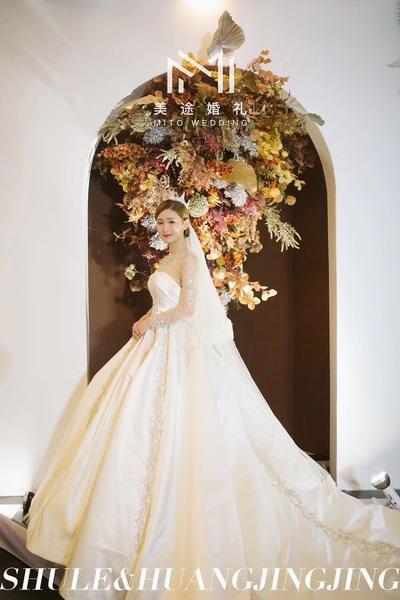 DODOWED真实婚礼案例推荐系列之美途婚礼策划案例《秋色》