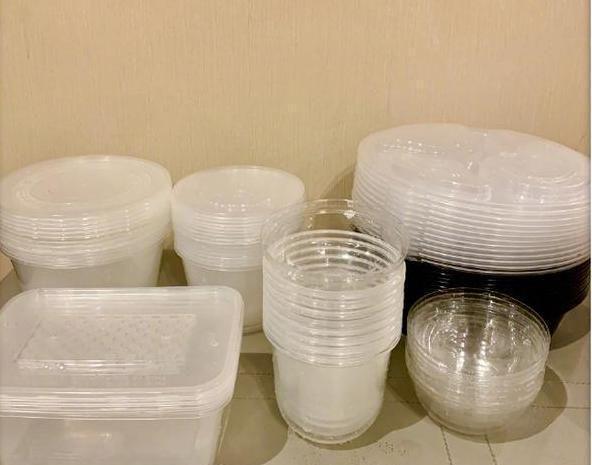 陈妍希罕见发文晒照塑料餐具堆放整齐呼吁大家注意环保太暖心
