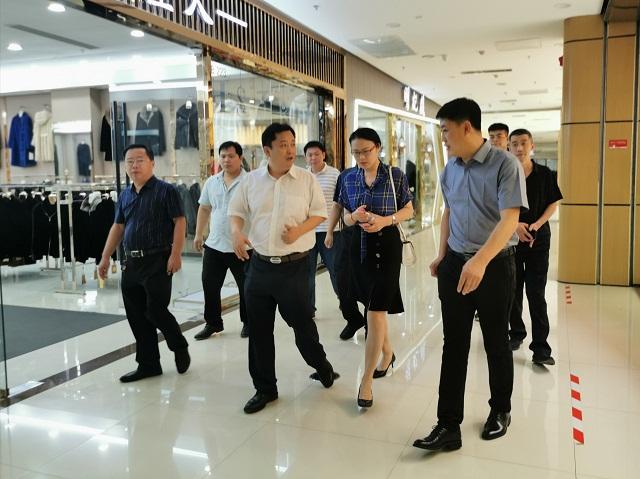 沧州市商务局领导亲临肃宁调研淘宝峰会筹备工作