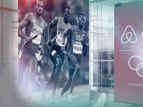 用「共享」经济赋能体育,Airbnb爱彼迎接过奥运营销主火炬
