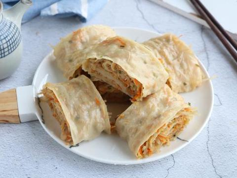 春天就馋懒人面食,两手一卷上锅一蒸,比包子简单,比饺子快手!
