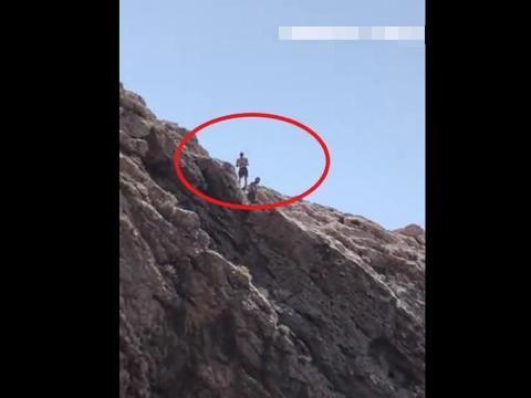 英国男子为求刺激站悬崖上跳海,一声巨响后全身多处骨折重伤入院