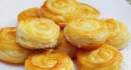 在家就可以做的千层饼, 表层酥脆内部松软, 教你能起酥的好办法!