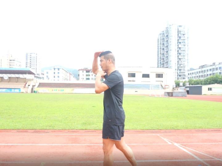 陈盆滨教跑步丨头部篇