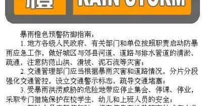 北京朝阳、石景山、密云、海淀四区升级发布暴雨橙色预警