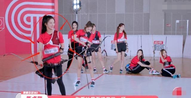 硬糖少女全员射箭,其他人都脱靶,唯独这两人,让陈卓璇希林膜拜