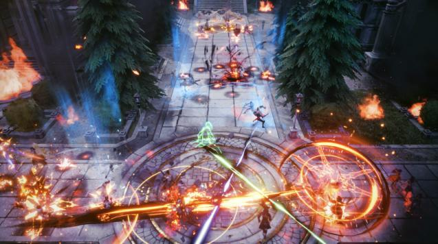 《剑网三》跨服对战花样多,《新神魔大陆》更加热血燃战