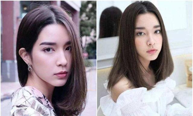 撞脸中国女星的泰国女星们,穿衣打扮时尚妆容很赞,颜值辨识度高