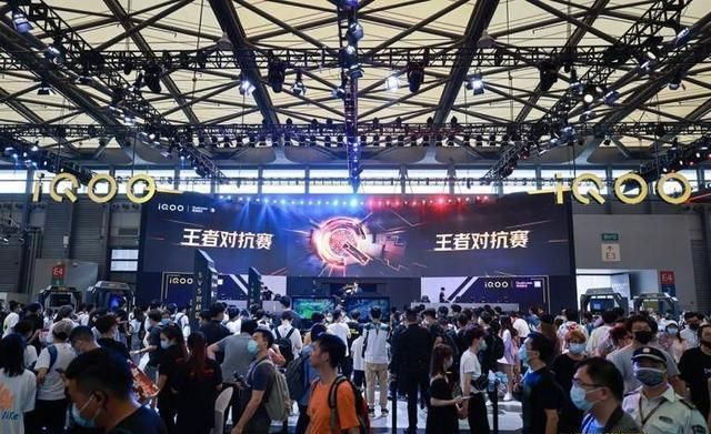 iQOO展位的120W超快闪充成ChinaJoy焦点,引爆玩家电竞激情