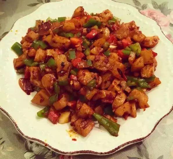 美食精选:辣炒藕丁、回锅藕片、韭菜炒黄豆芽、小米红枣枸杞粥