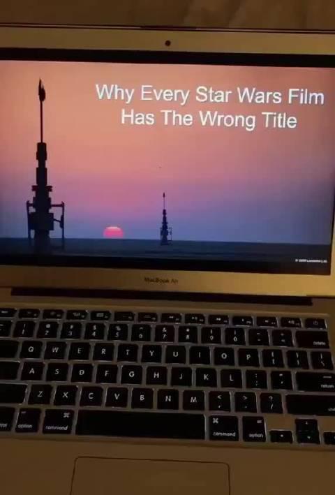 每部星战电影名字都错了! 前传I里我们认识了阿纳金天行者……