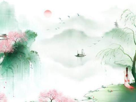 一生中不可不读的14句诗词经典名句,山抹微云,天粘衰草