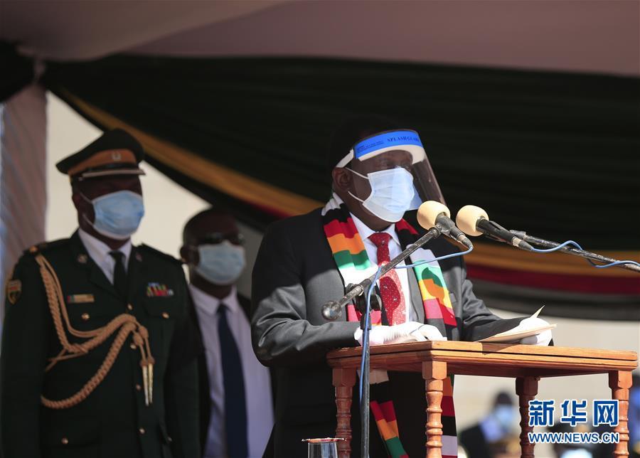 津巴布韦为感染新冠病毒的农业部长举行葬礼