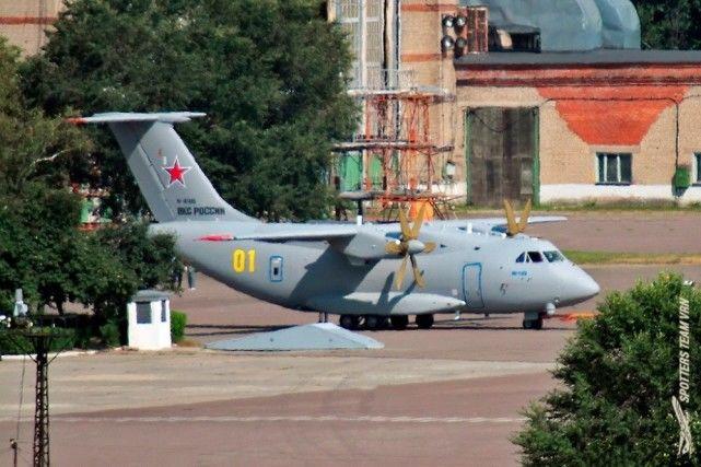 可搭载44名士兵,俄一运输机涂上空天军颜色,专家:才服役就过时