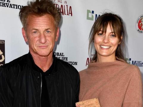 又一对好莱坞巨星结婚,西恩潘迎娶小32岁娇妻,父女恋花开正果