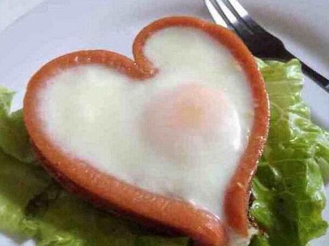 吃货美食:爱心煎蛋,香醋海蛰头,香蒜面包条的做法