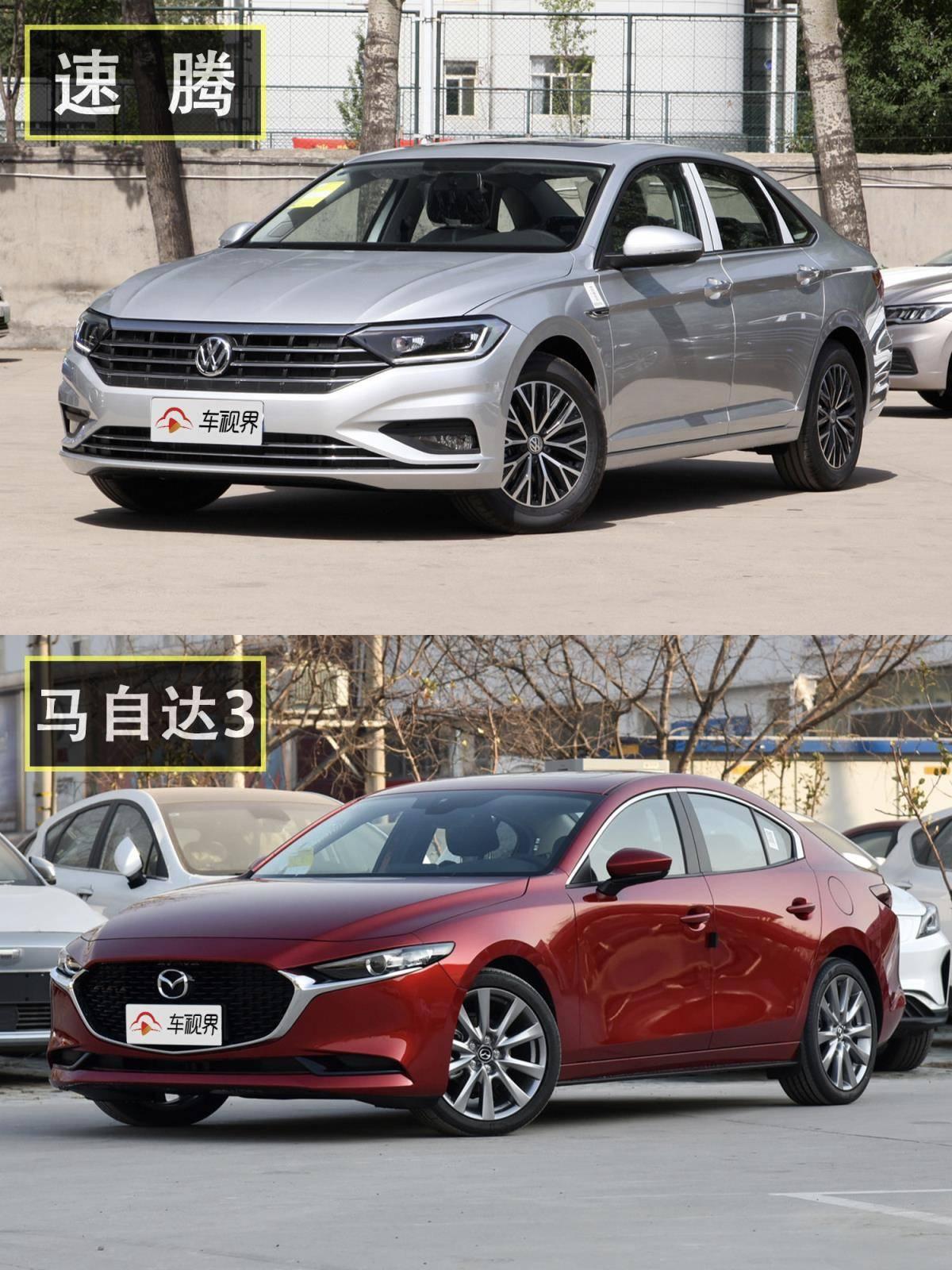 10多万最畅销的两款轿车!速腾和马自达3昂克赛拉到底该选谁?