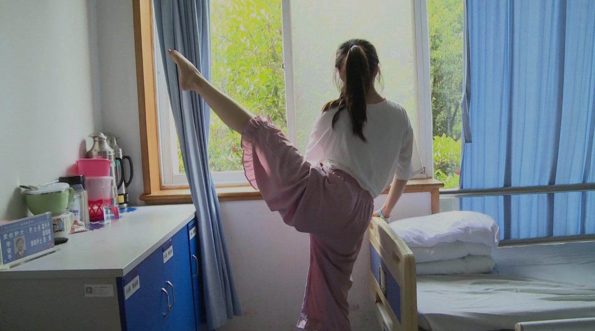 17岁艺考生跳舞时身体自带音效 原来患上这种病!