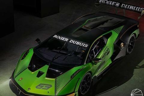 搭载最强V12发动机!兰博基尼将推出赛道级跑车Essenza SCV12