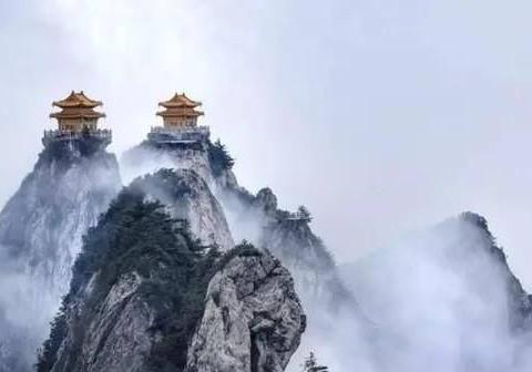 """河南一""""知名""""道教山脉,海拔比泰山高669米,距郑州1小时车程"""