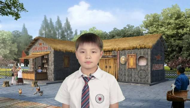 诗歌《抗疫之歌》,朗诵:刘之昂,盐城外国语学校四(3)班