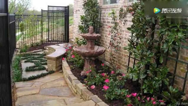 家居花园阳台,家居庭院欧美风格设计欣赏!住着都不想再走了!