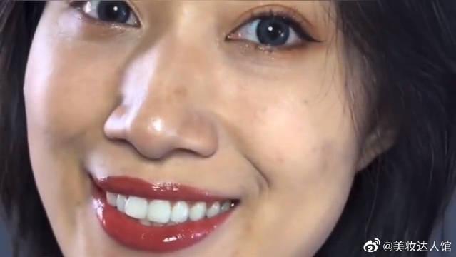 纪梵希唇釉试色,上嘴的那一刻还带着闪光,太美了