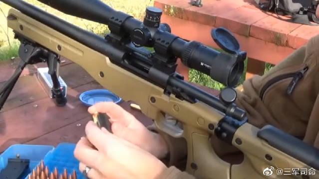 只能单发射击的狙击步枪靶场射击评测……