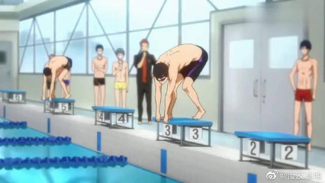 Free:七濑遥游泳的样子震撼了龙崎怜……