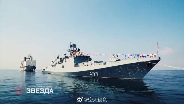 回顾俄罗斯海军在叙利亚塔尔图斯港举行海军节庆祝活动精彩瞬间