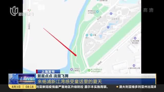 上海发布:繁星点点 流萤飞舞——来杨浦新江湾感受童话里的夏天