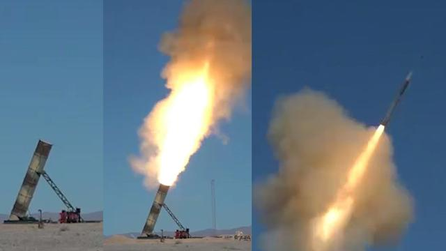 """伊朗竖起大批""""东风-21""""反舰弹道导弹,与蛙人携手打美航母模型"""