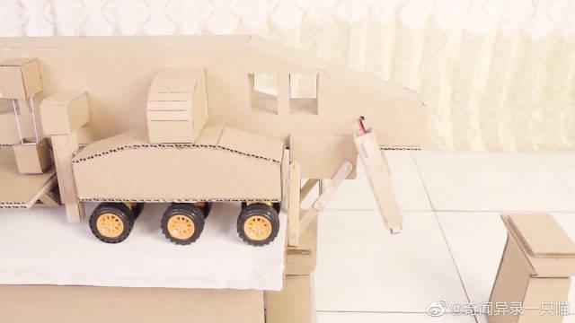 神奇的架桥机,牛人自制模型展示其原理,长见识了