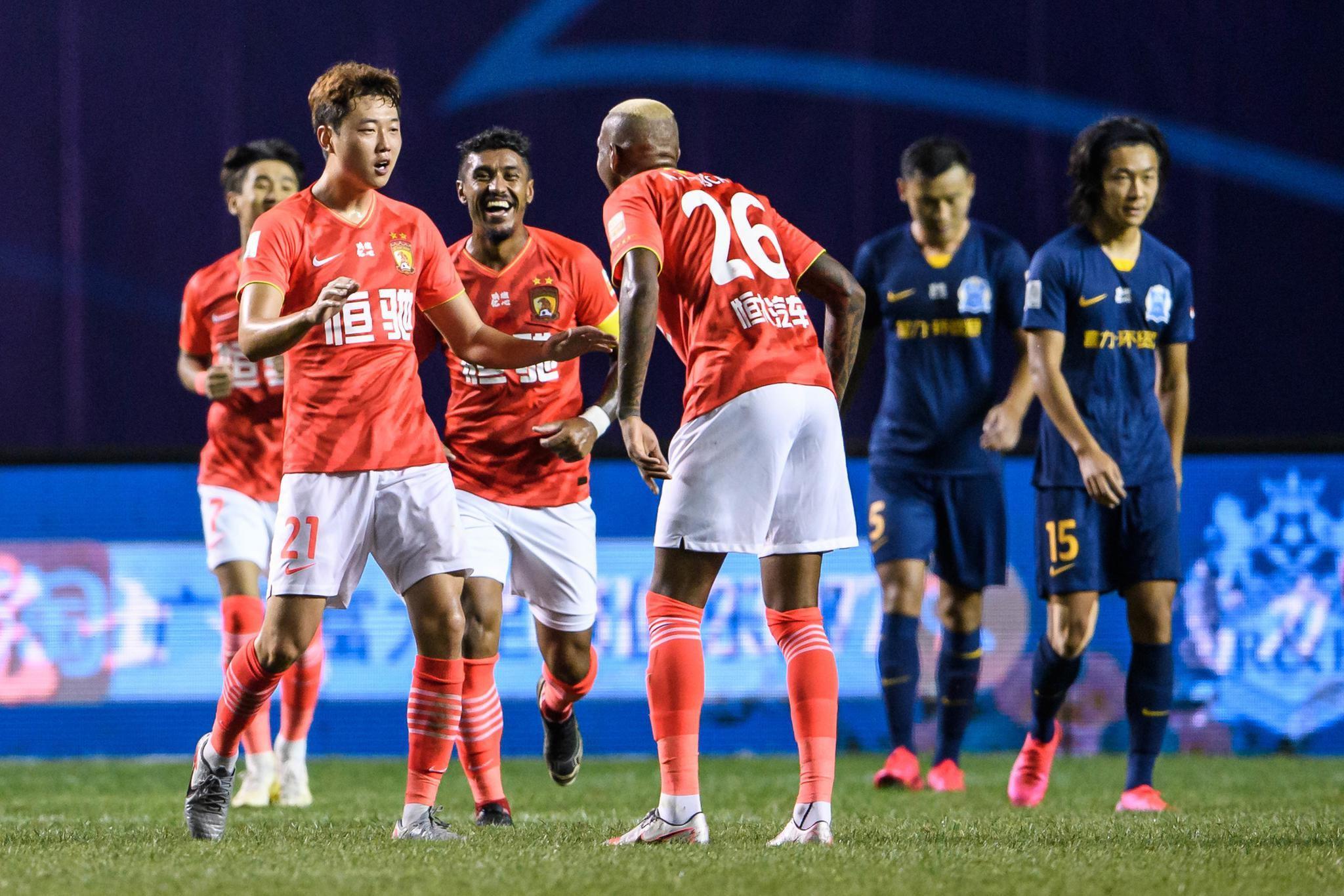 黄强歪谈体育认为,这粒进球对于恒大取胜广州