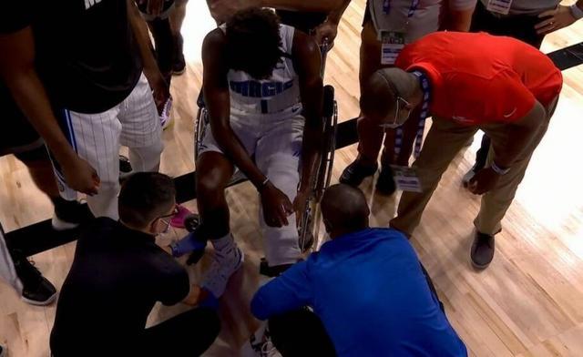 16分钟16+6!NBA天才球员左膝再伤,队友抹泪,职业生涯堪忧
