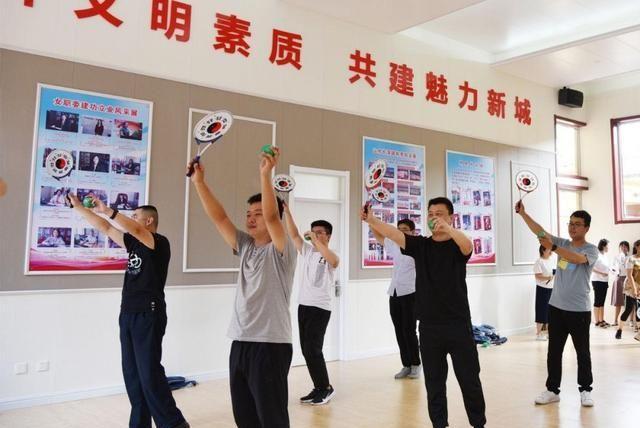 「长清」长清工会毓秀讲堂——柔力球健身操培训班1