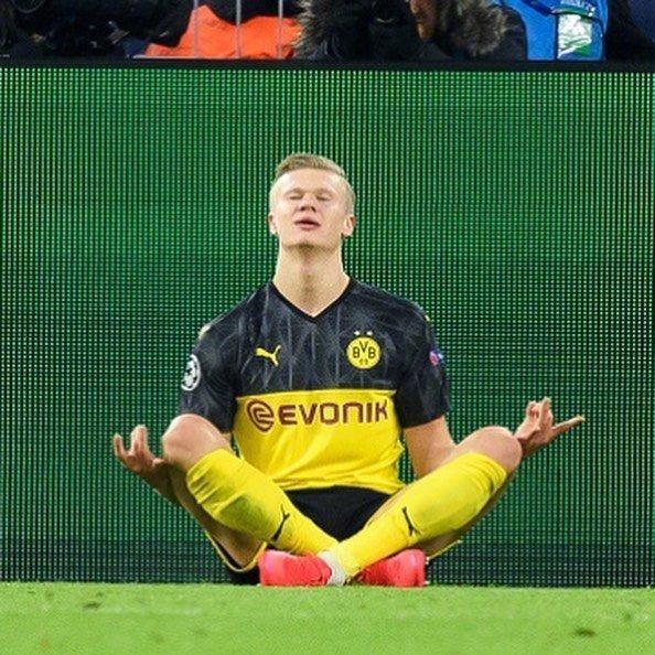 欧洲金靴放榜,19岁的哈兰德相等梅西,下个赛季他将降服国际