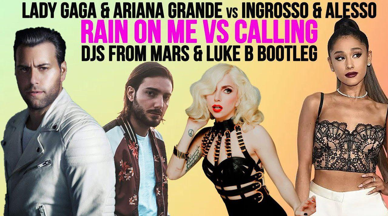 电音二人组DJ From Mars将A妹与Lady Gaga合作的热单Rain On Me