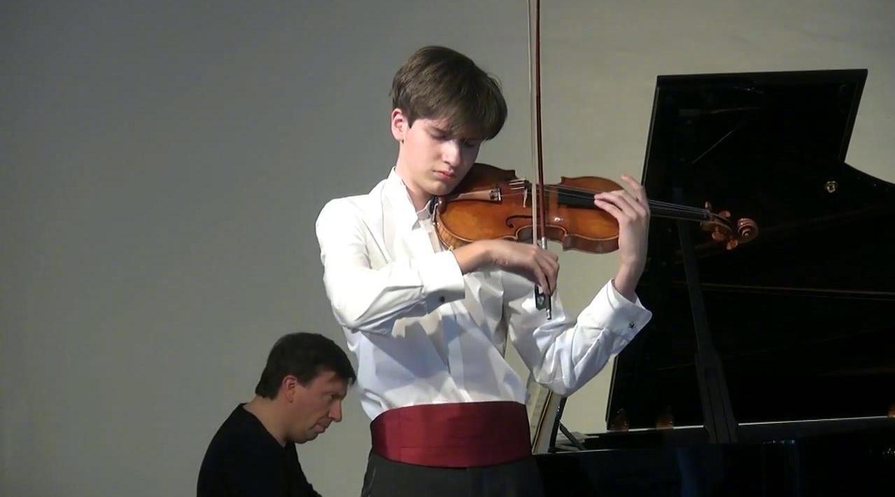 奥地利青年小提琴家Julian Walder……