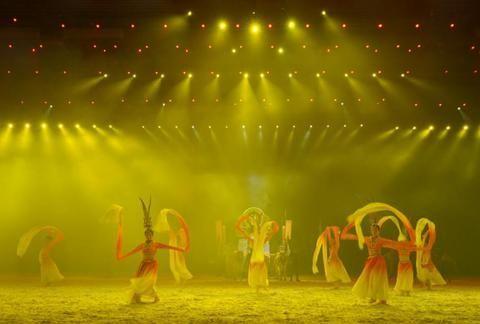 实景5D情景大剧《飞马滹沱》即将在衡水安平县上映