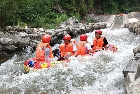 8月6日太行大峡谷漂流强势归来