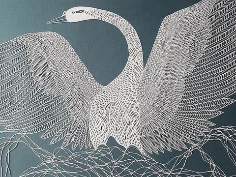 巧夺天工的纸雕艺术,一个作品上万次雕刻,栩栩如生跃然纸上