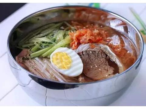 韩式冷面:冰冰凉凉,超级适合夏天