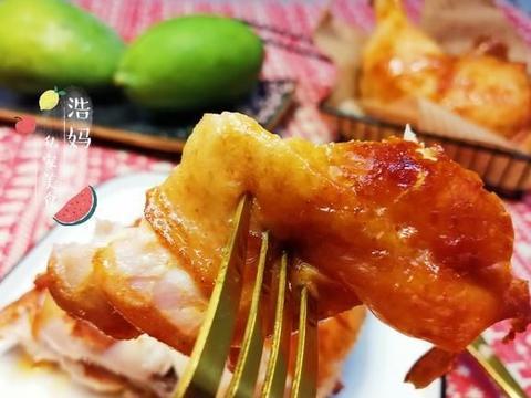 一次烤两种味道鸡腿,满足一家人不同口味,鸡腿腌制及烤制要领