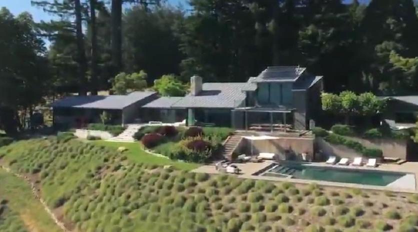 加州圣克鲁斯拥有壮观景色令人惊叹的住宅