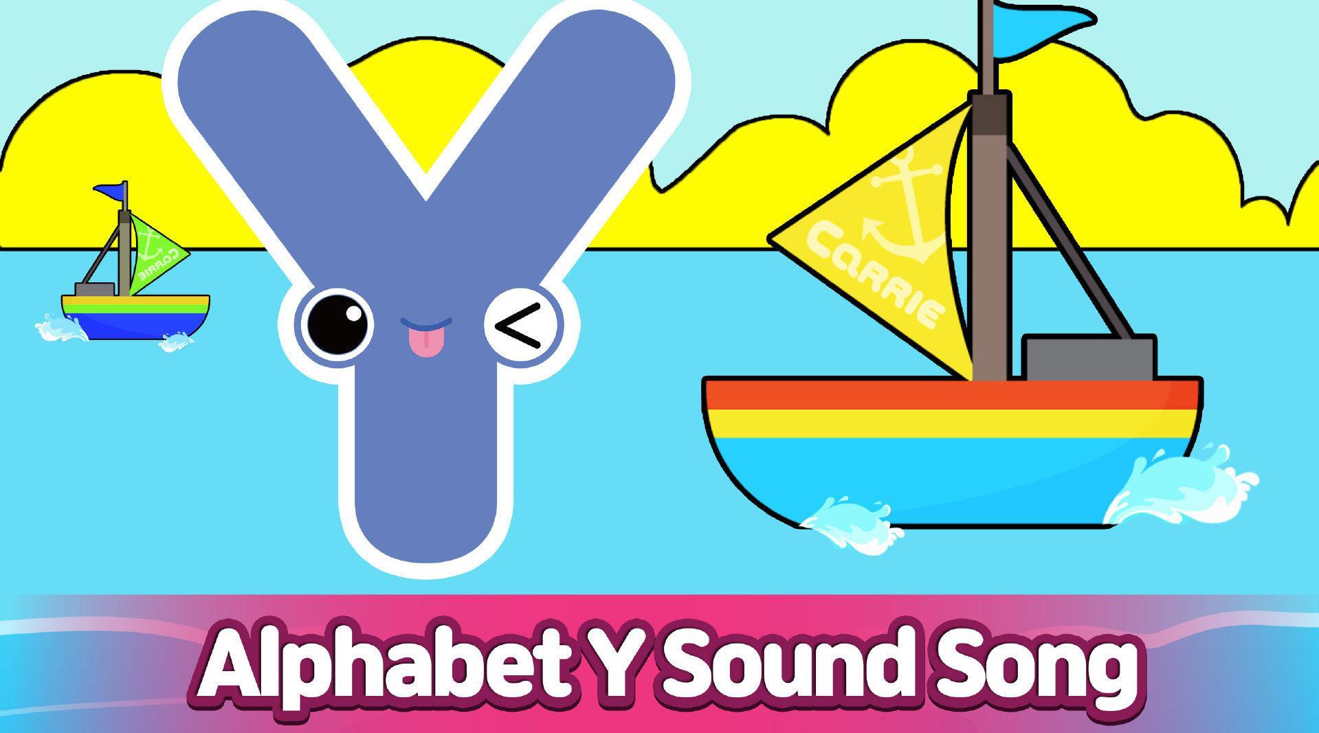 CARRIE 凯利英语自然拼读法之字母Y Y~yellow yogurt year ……