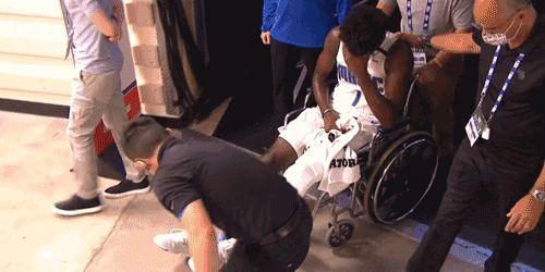 NBA天才前锋重伤!或遭遇十字韧带撕裂