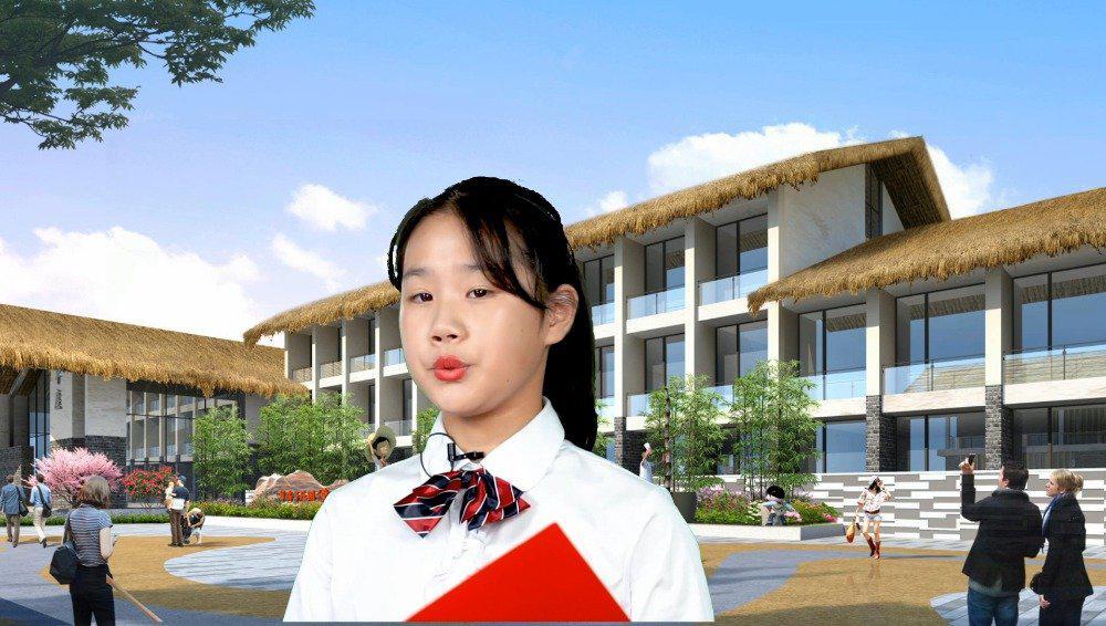 诗歌《童心追梦》,朗诵:李 和,盐城外国语学校六(4)班