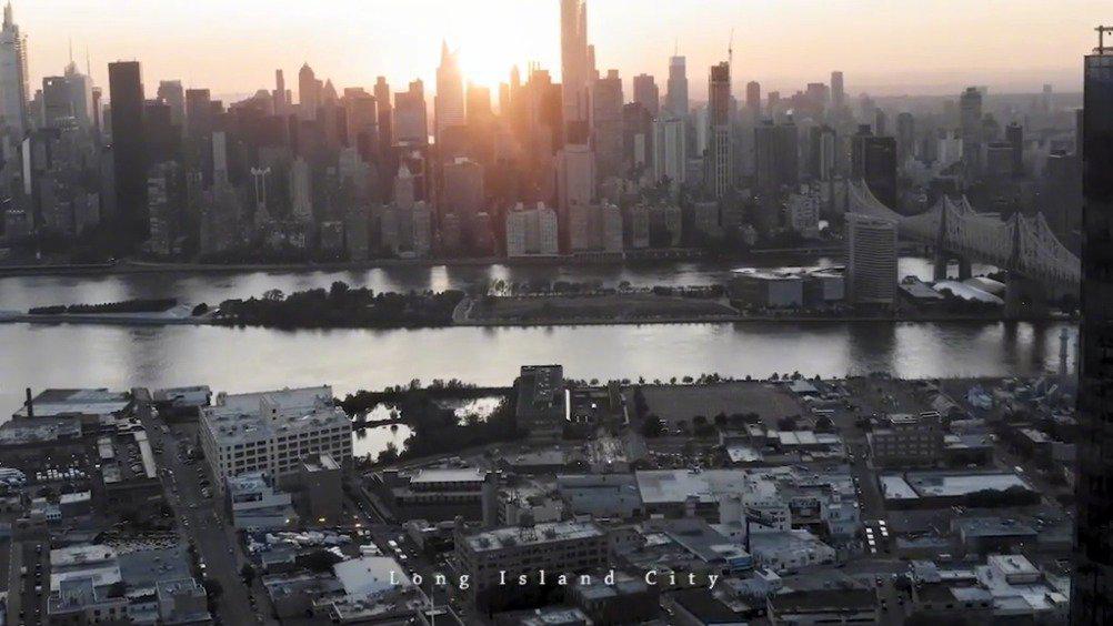 航拍纽约皇后区长岛城,曼哈顿白领新宠,极尽繁华之地