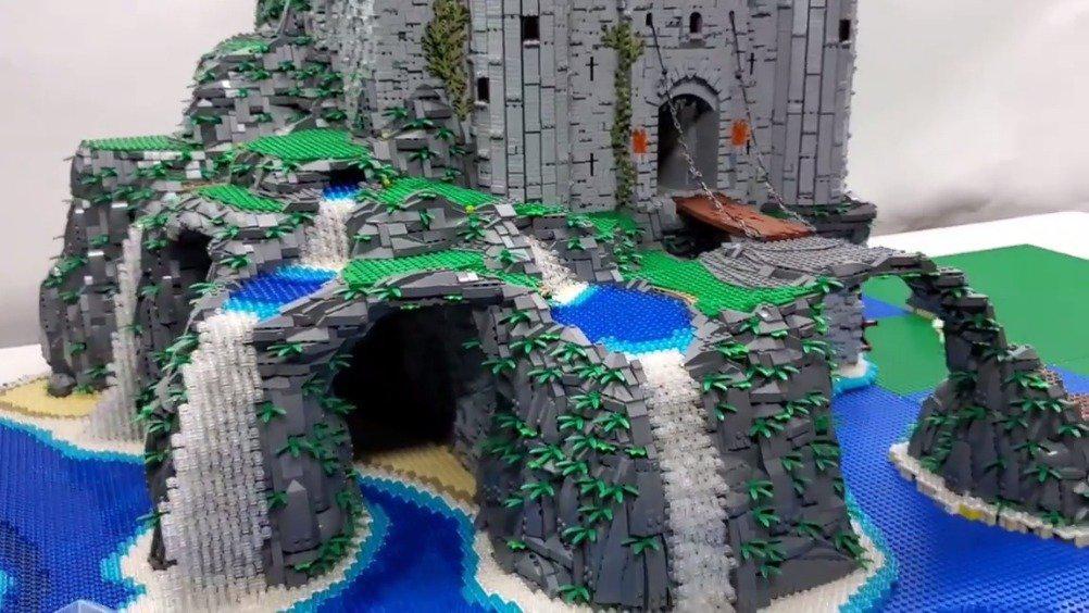 Ben Pitchford 的moc中世纪城堡!
